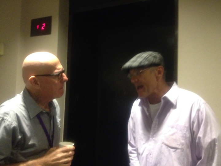 Gene Koss and Barry Bailey