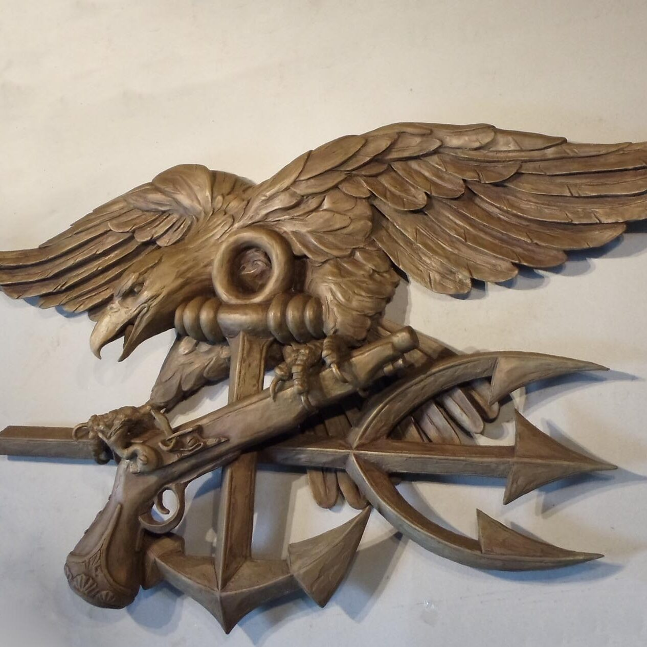 Navy Seals Plaque by Ed Walker