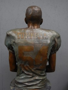 thomas Cutinella  back in bronze