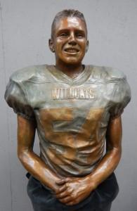 thomas Cutinella in bronze